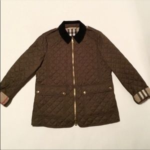 Burberry quilted women jacket